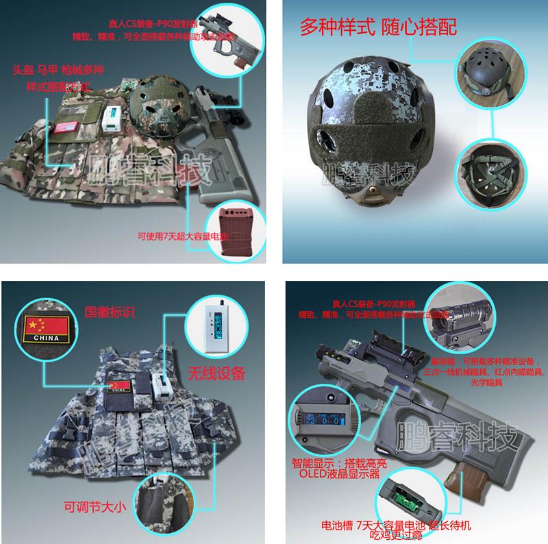 真人CS装备-P90发射器